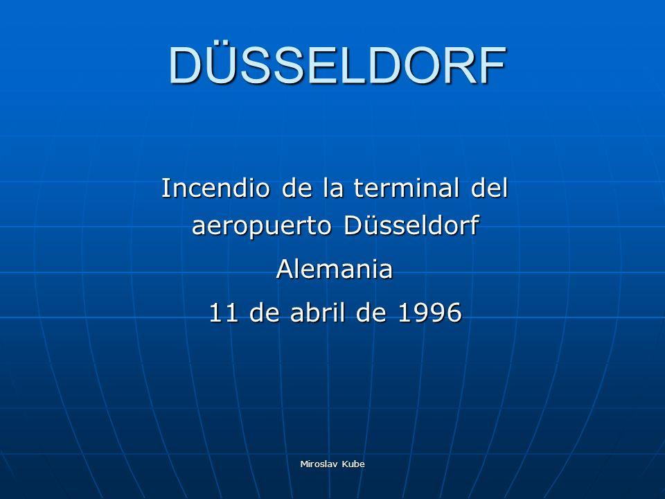Incendio de la terminal del aeropuerto Düsseldorf