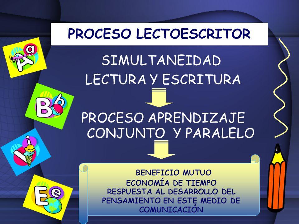 PROCESO LECTOESCRITOR