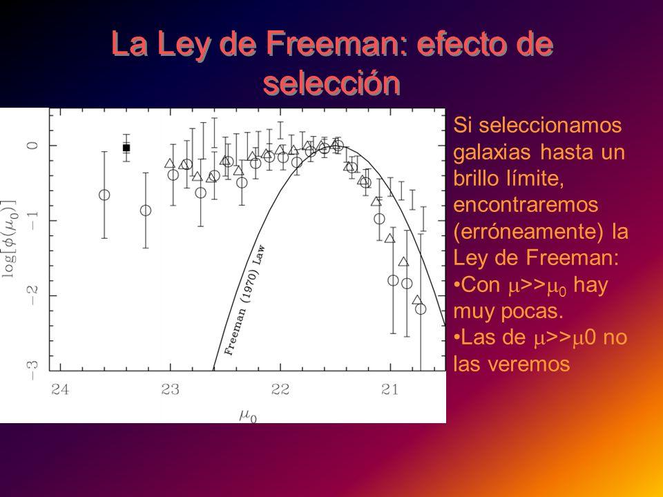 La Ley de Freeman: efecto de selección