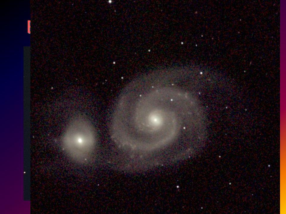 Brazos en M51: Grand design