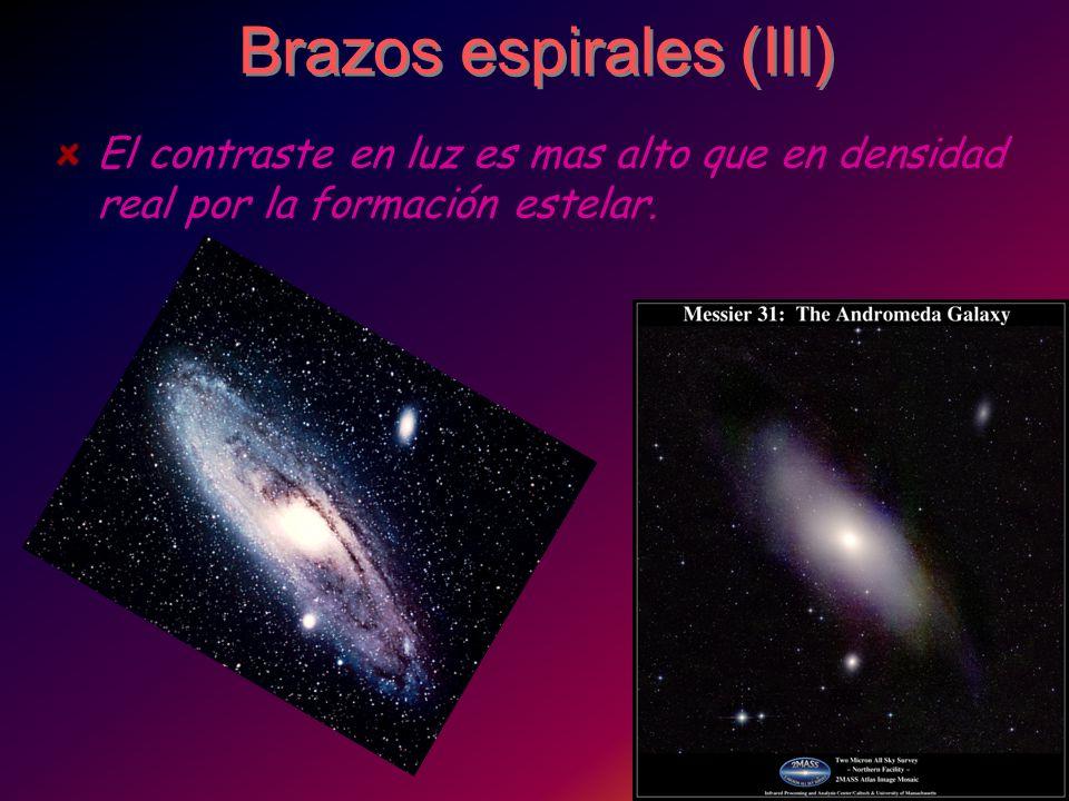 Brazos espirales (III)