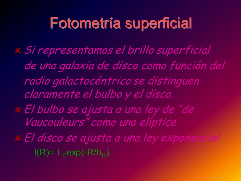 Fotometría superficial
