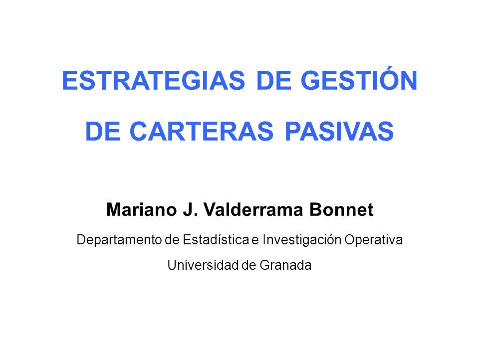 ESTRATEGIAS DE GESTIÓN Mariano J. Valderrama Bonnet