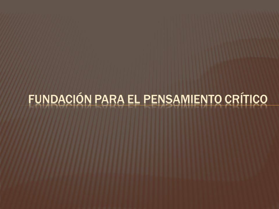 Fundación para el pensamiento crítico