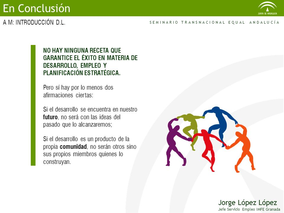 En Conclusión Jorge López López A M: INTRODUCCIÓN D.L.