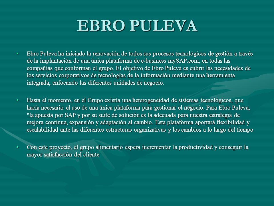 EBRO PULEVA