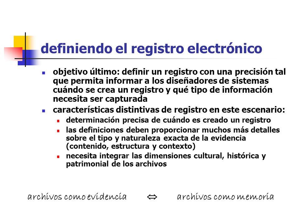 definiendo el registro electrónico