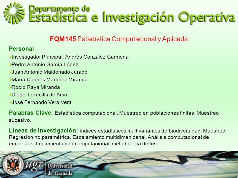 FQM145 Estadística Computacional y Aplicada