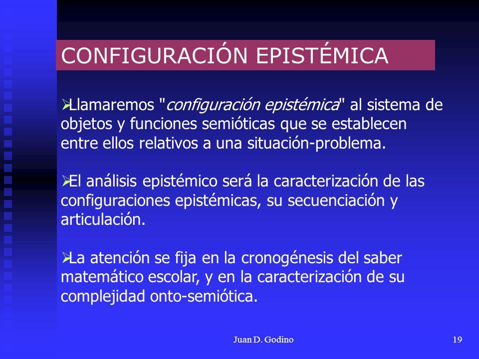 CONFIGURACIÓN EPISTÉMICA
