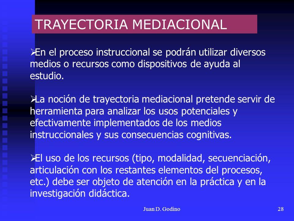 TRAYECTORIA MEDIACIONAL