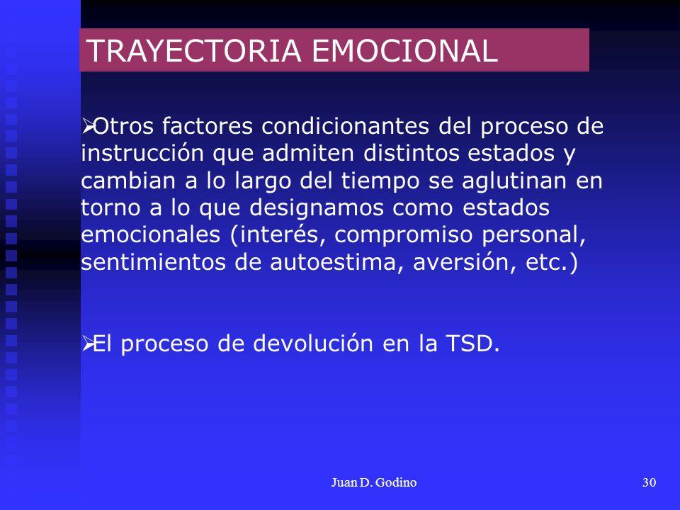 TRAYECTORIA EMOCIONAL
