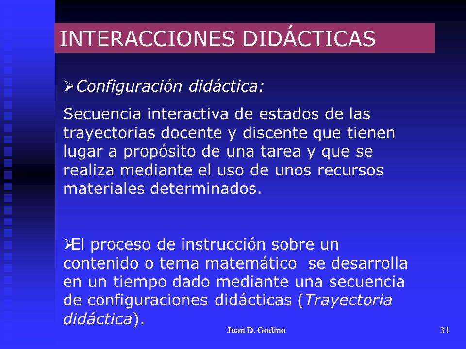 INTERACCIONES DIDÁCTICAS
