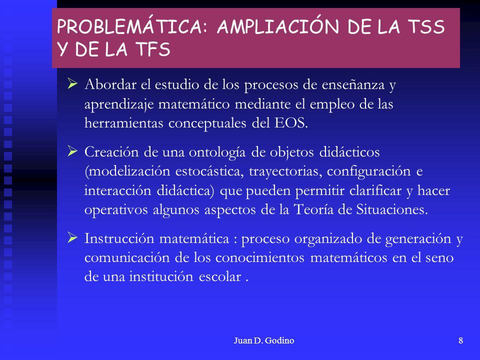 PROBLEMÁTICA: AMPLIACIÓN DE LA TSS Y DE LA TFS