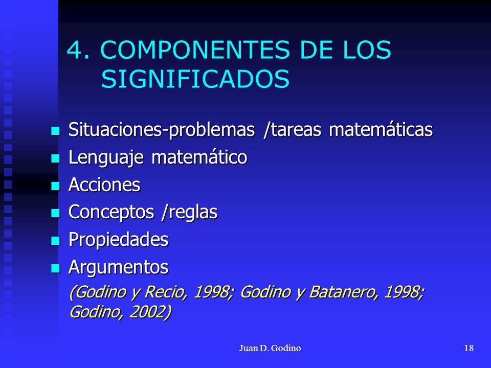 4. COMPONENTES DE LOS SIGNIFICADOS