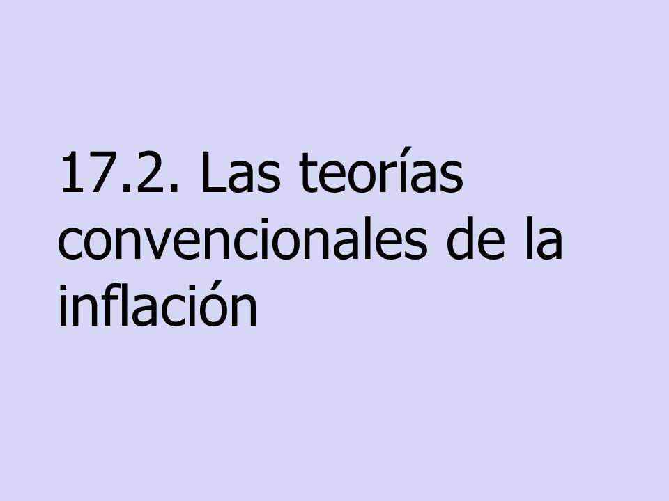 17.2. Las teorías convencionales de la inflación
