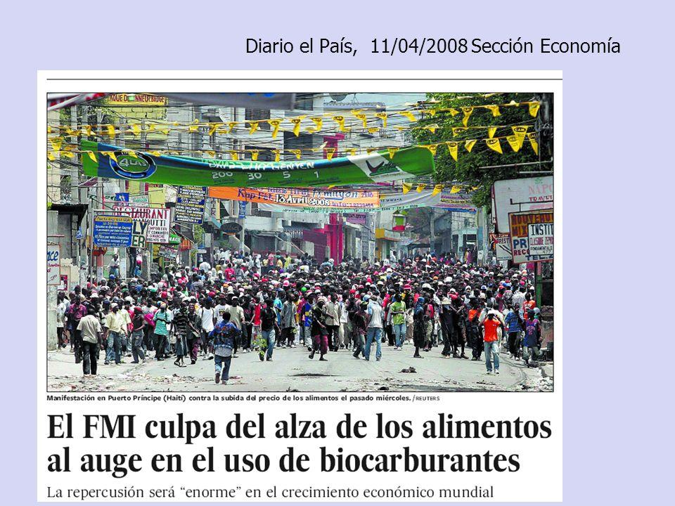 Diario el País, 11/04/2008 Sección Economía