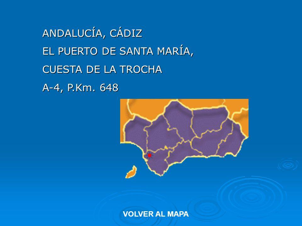 EL PUERTO DE SANTA MARÍA, CUESTA DE LA TROCHA A-4, P.Km. 648