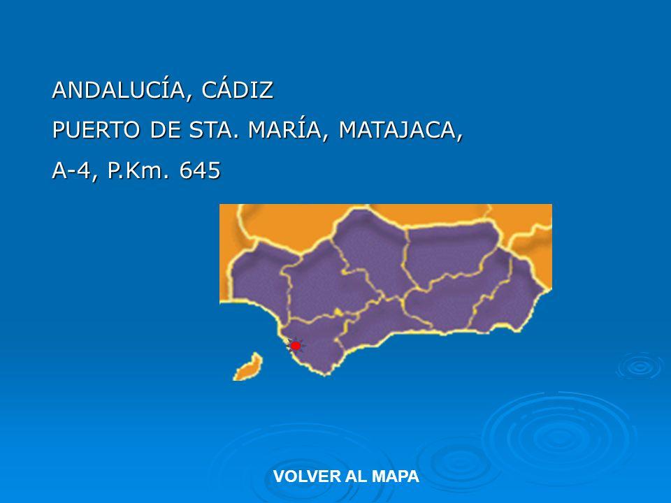 PUERTO DE STA. MARÍA, MATAJACA, A-4, P.Km. 645