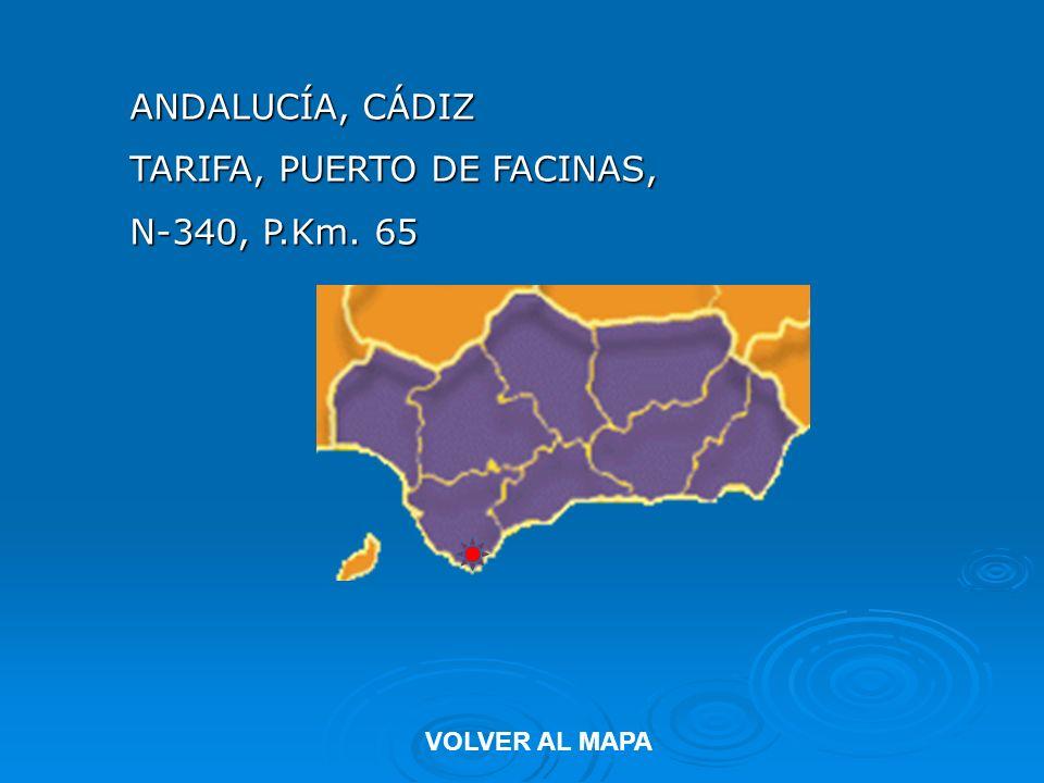 TARIFA, PUERTO DE FACINAS, N-340, P.Km. 65