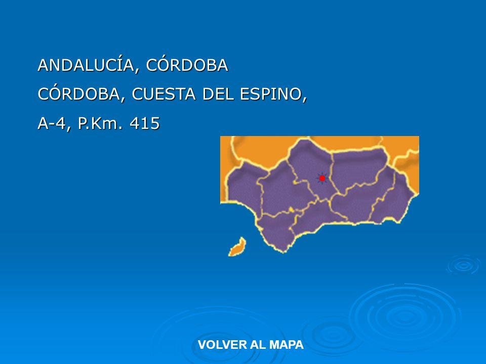 CÓRDOBA, CUESTA DEL ESPINO, A-4, P.Km. 415