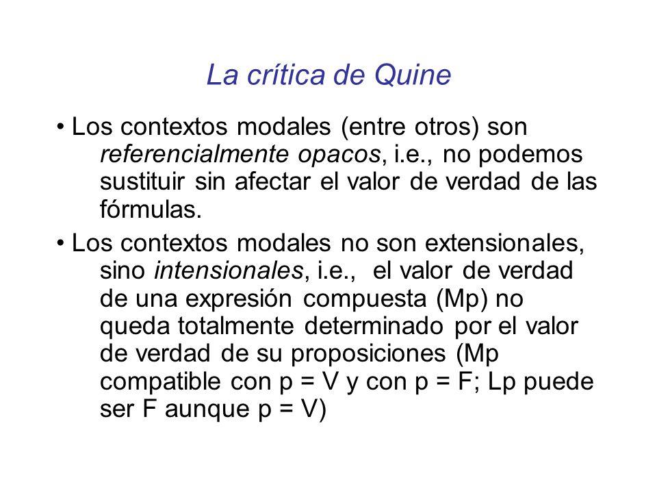 La crítica de Quine