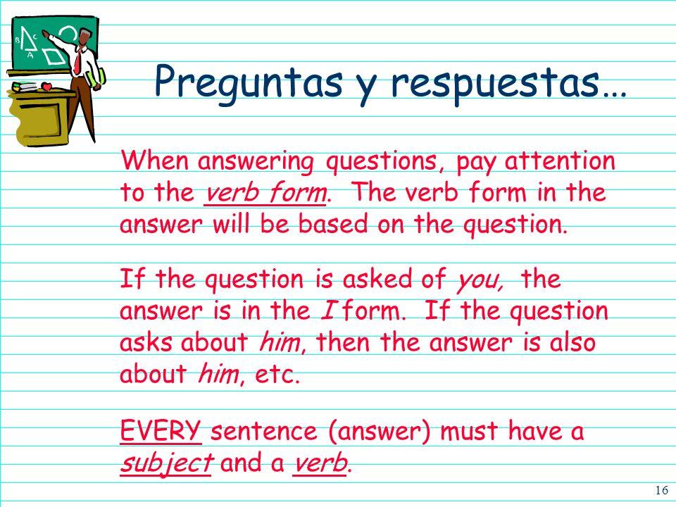 Preguntas y respuestas…