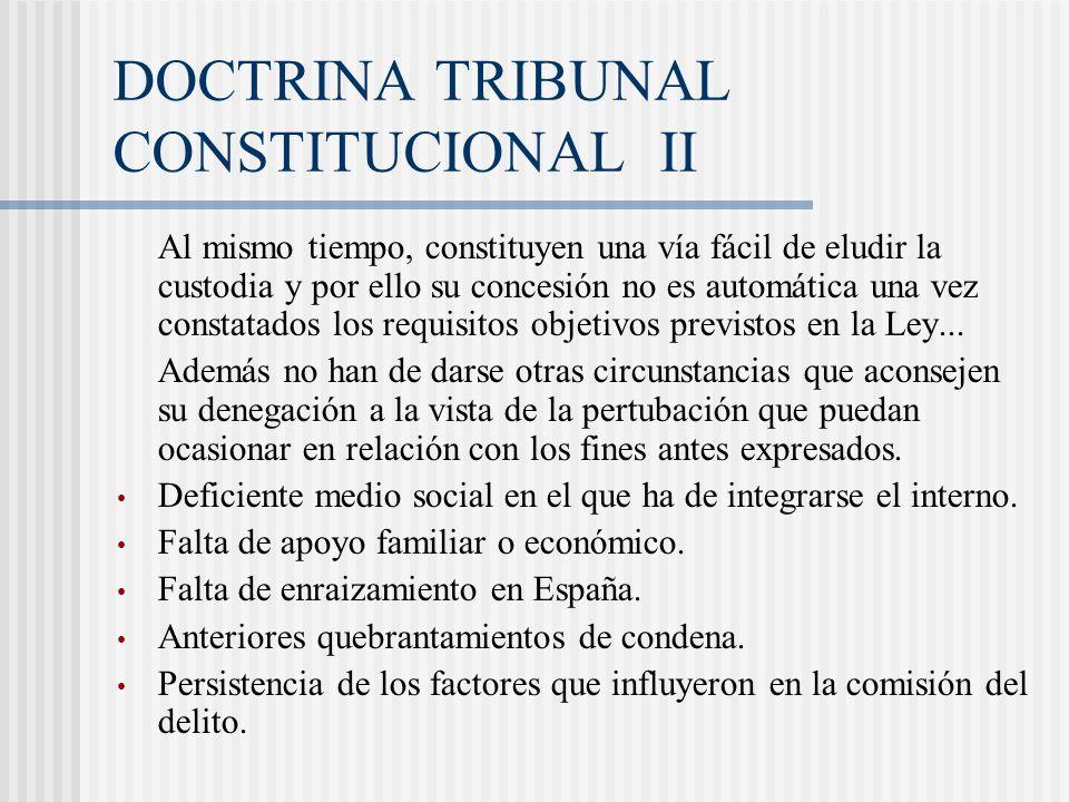 DOCTRINA TRIBUNAL CONSTITUCIONAL II