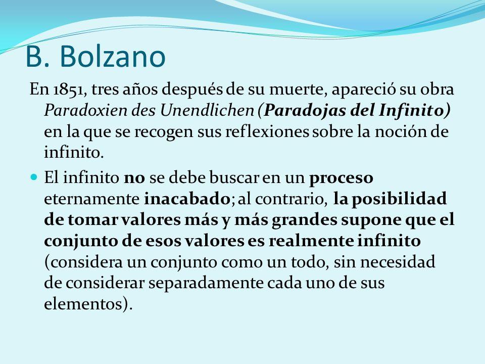 B. Bolzano