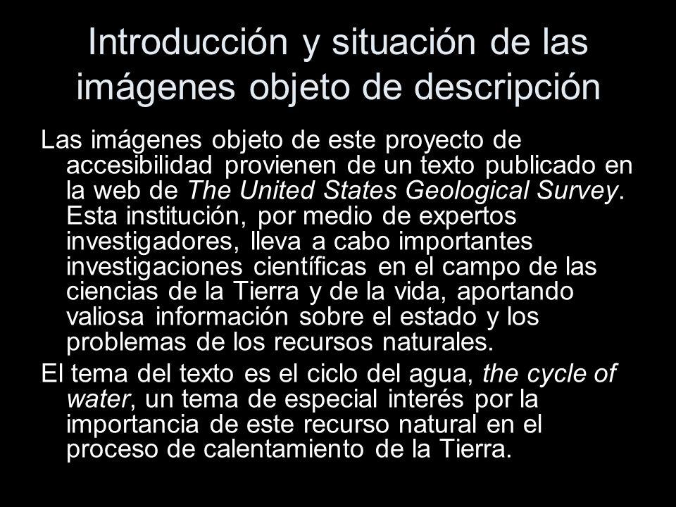 Introducción y situación de las imágenes objeto de descripción