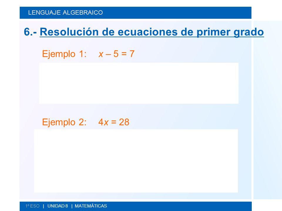 La solución de la ecuación es x = 12.