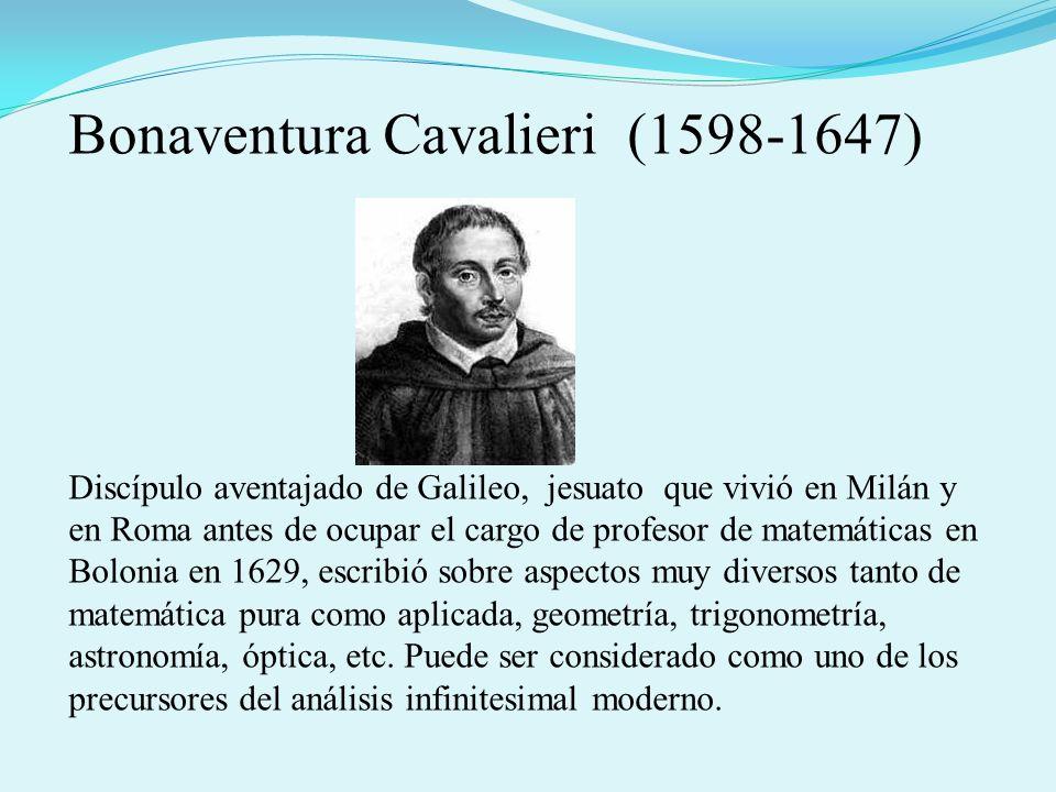 Bonaventura Cavalieri (1598-1647)