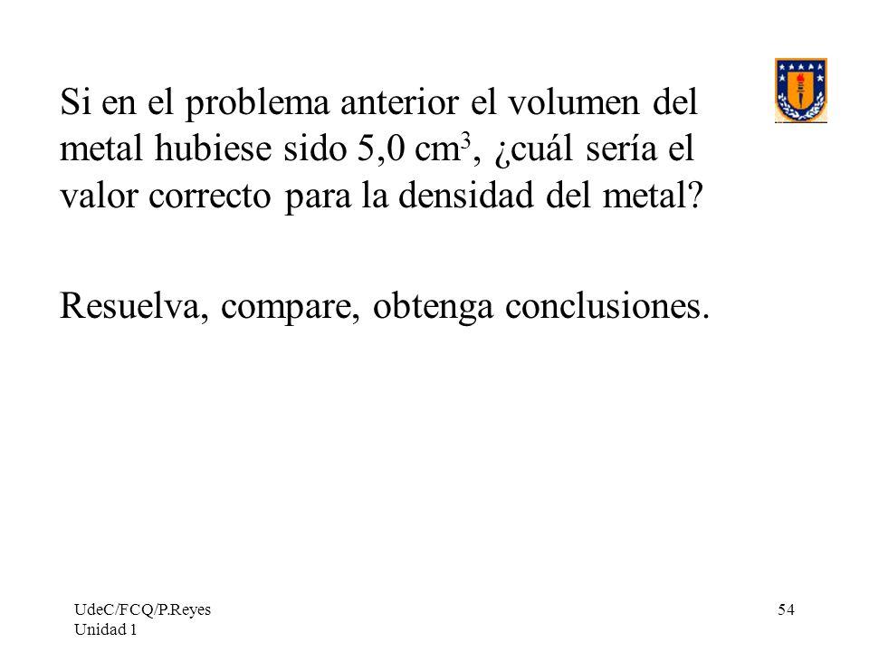 Resuelva, compare, obtenga conclusiones.