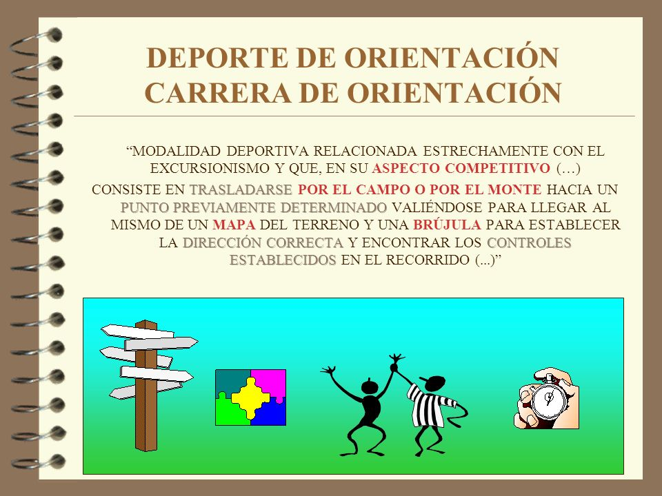 DEPORTE DE ORIENTACIÓN CARRERA DE ORIENTACIÓN