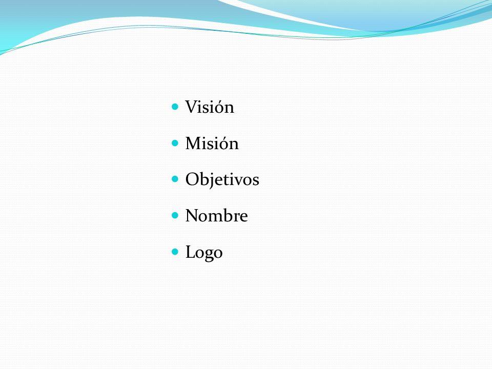 Visión Misión Objetivos Nombre Logo