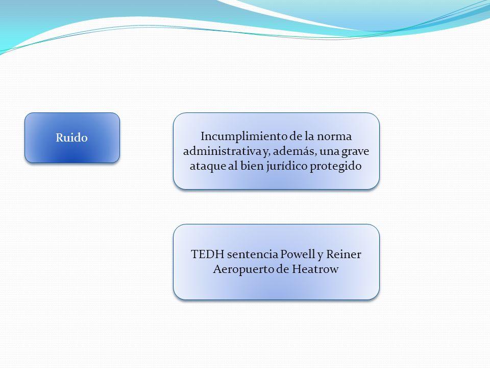 TEDH sentencia Powell y Reiner