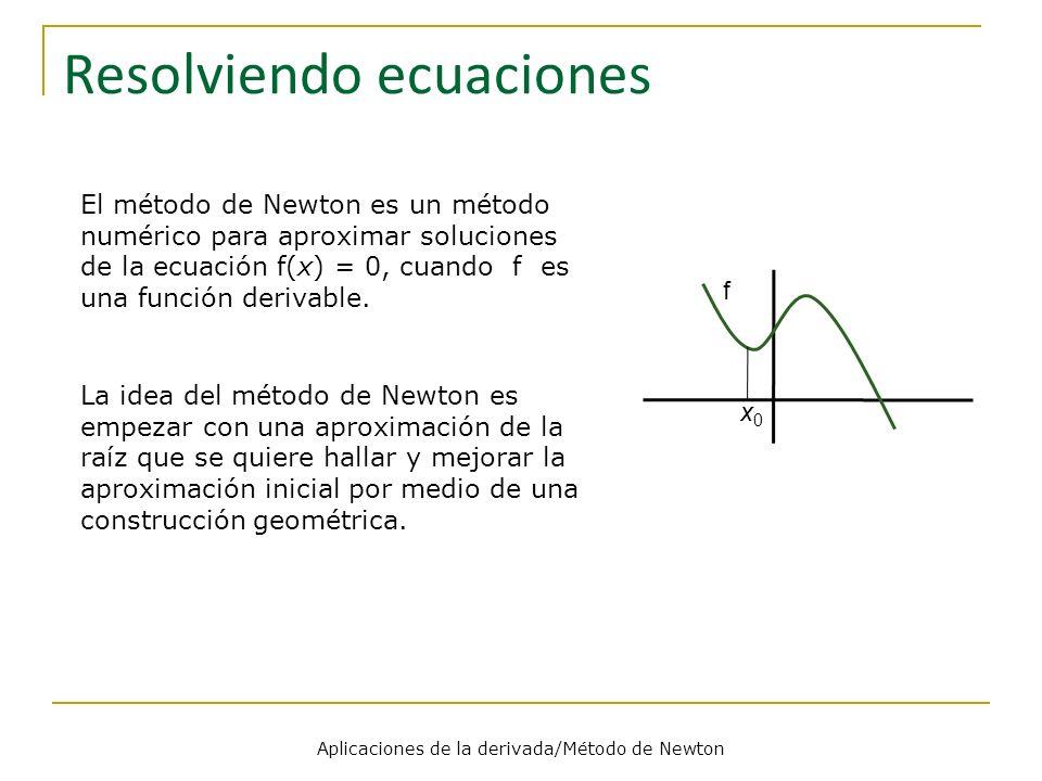 Resolviendo ecuaciones