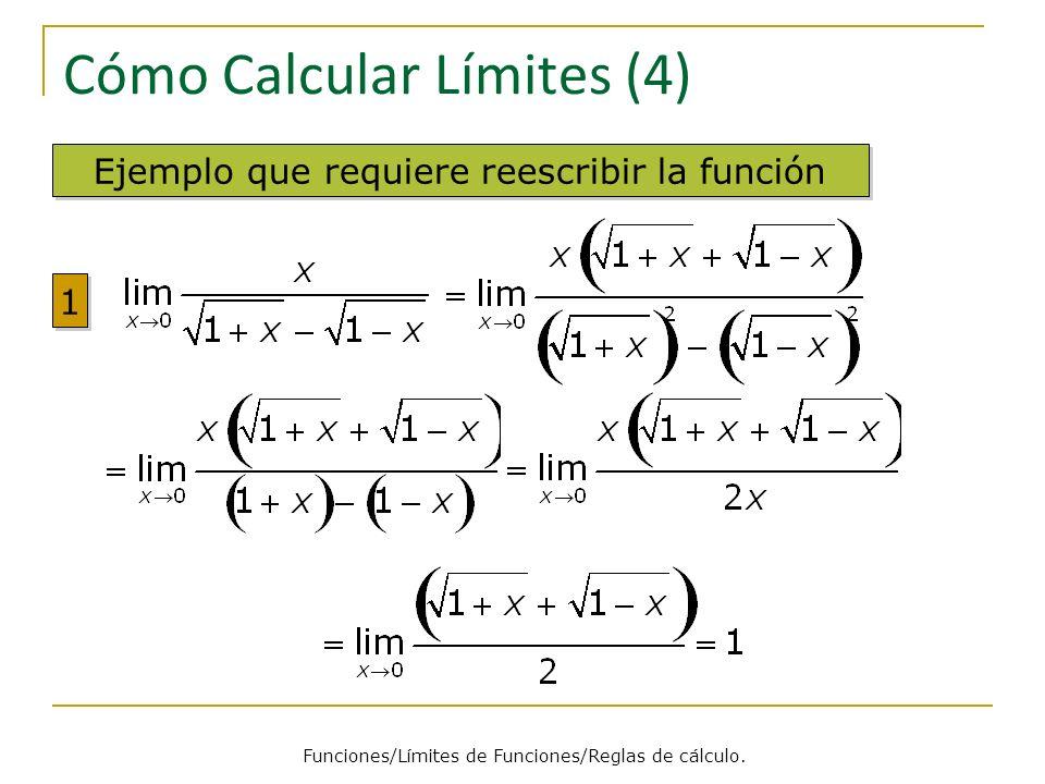 Cómo Calcular Límites (4)