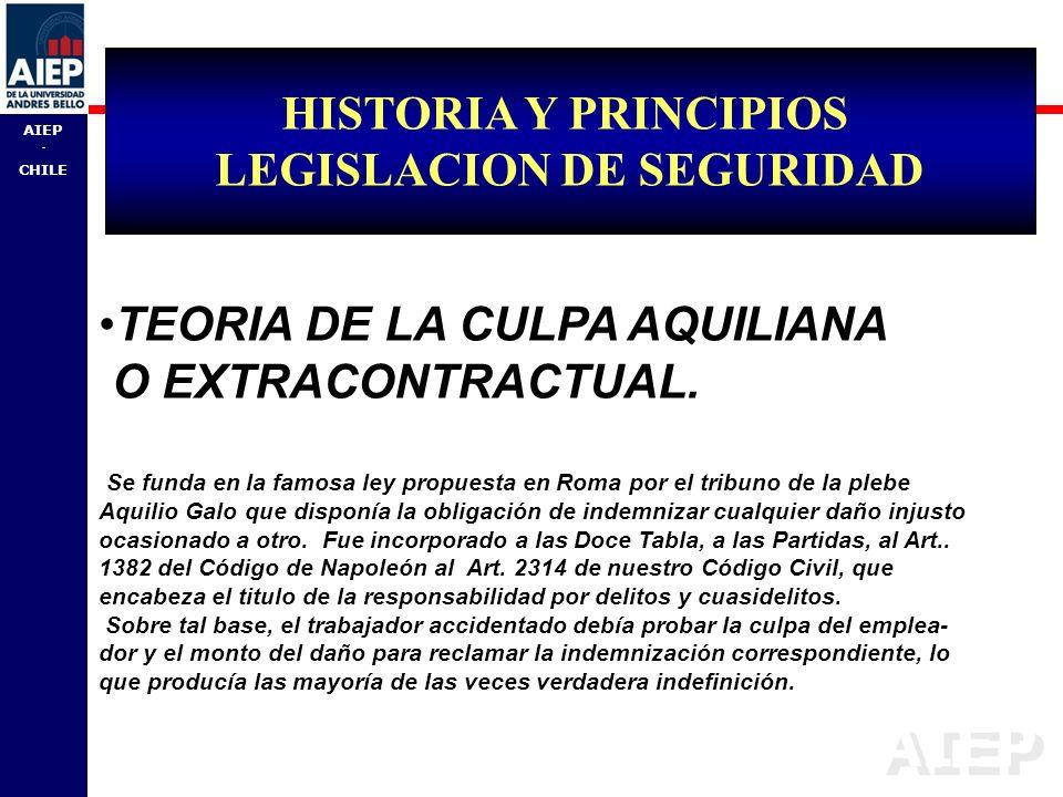 LEGISLACION DE SEGURIDAD