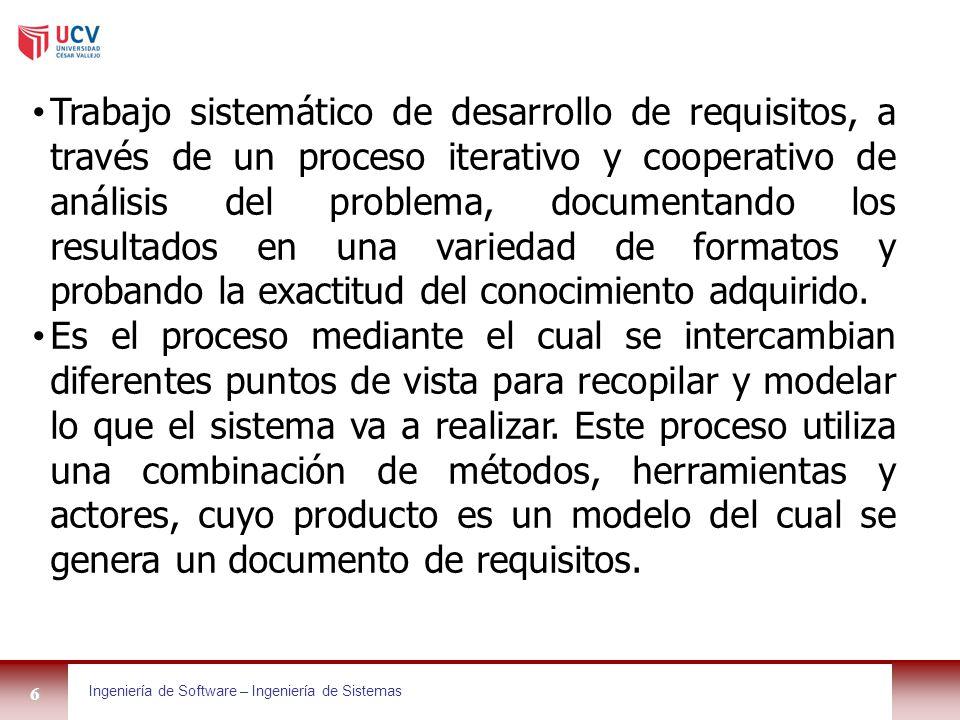ESCUELA PROFESIONAL DE INGENIERIA DE SISTEMAS - ppt descargar