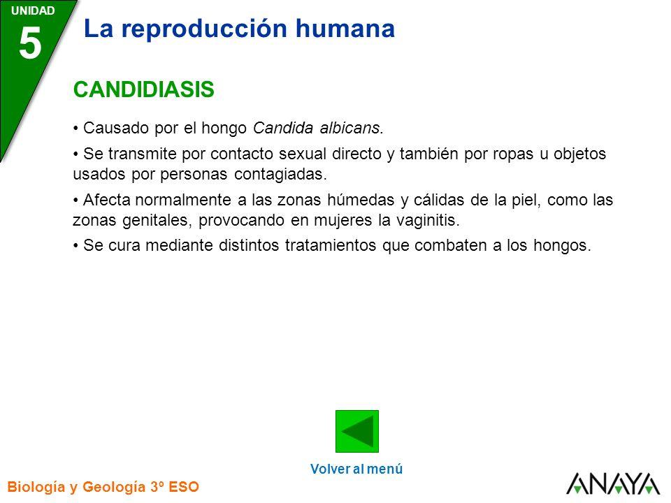 5 La reproducción humana CANDIDIASIS