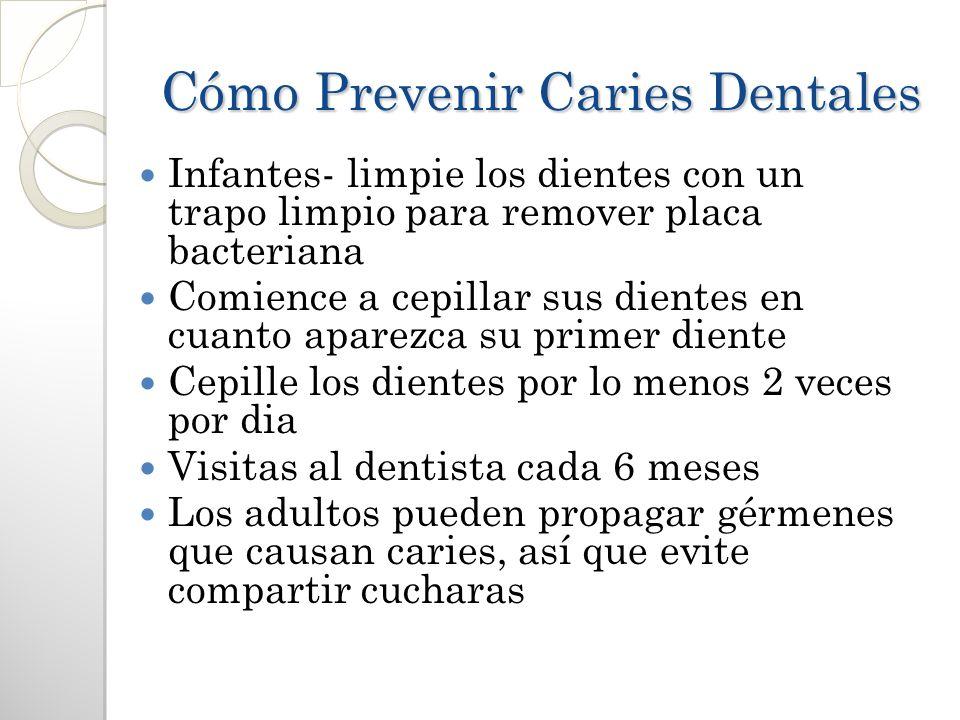 Cómo Prevenir Caries Dentales