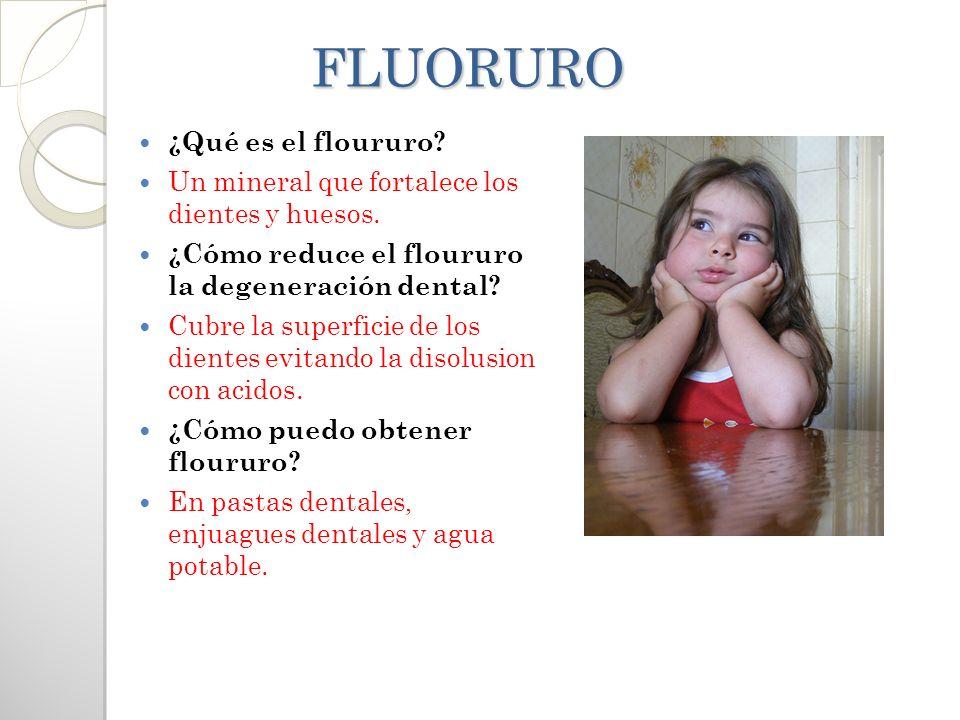 FLUORURO ¿Qué es el floururo