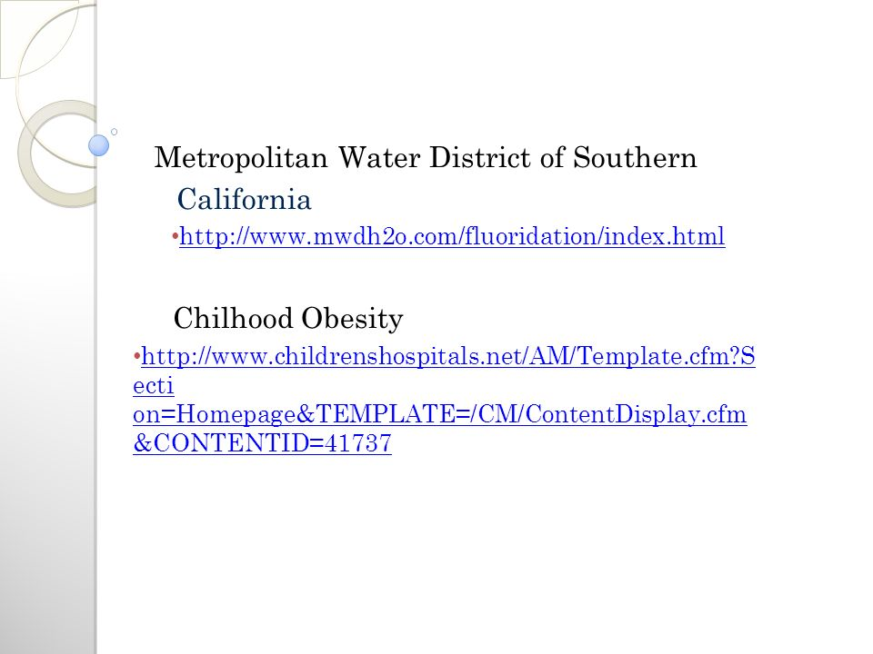 Metropolitan Water District of Southern