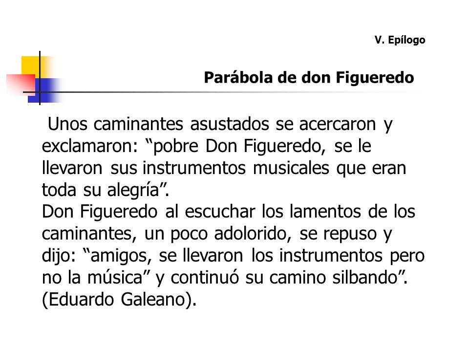 V. Epílogo Parábola de don Figueredo.