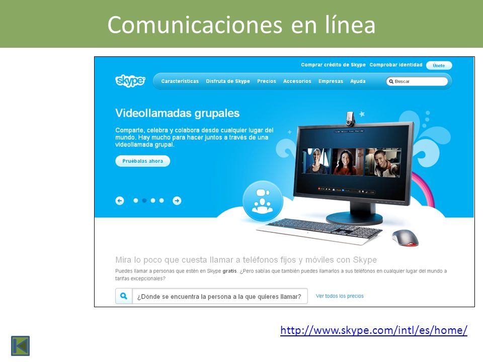 Comunicaciones en línea