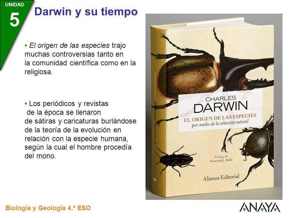 El origen de las especies trajo muchas controversias tanto en la comunidad científica como en la religiosa.
