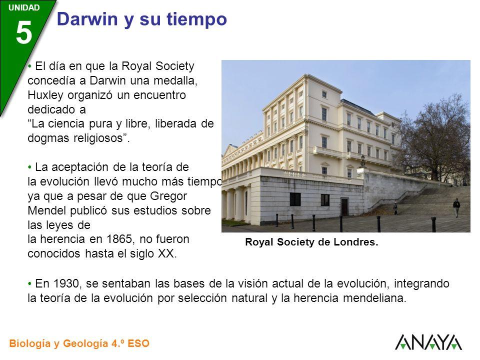 El día en que la Royal Society concedía a Darwin una medalla, Huxley organizó un encuentro dedicado a La ciencia pura y libre, liberada de dogmas religiosos .