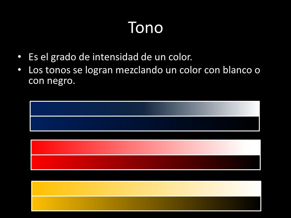 Tonos y matices 4 b sico ppt descargar - Tonos de colores ...