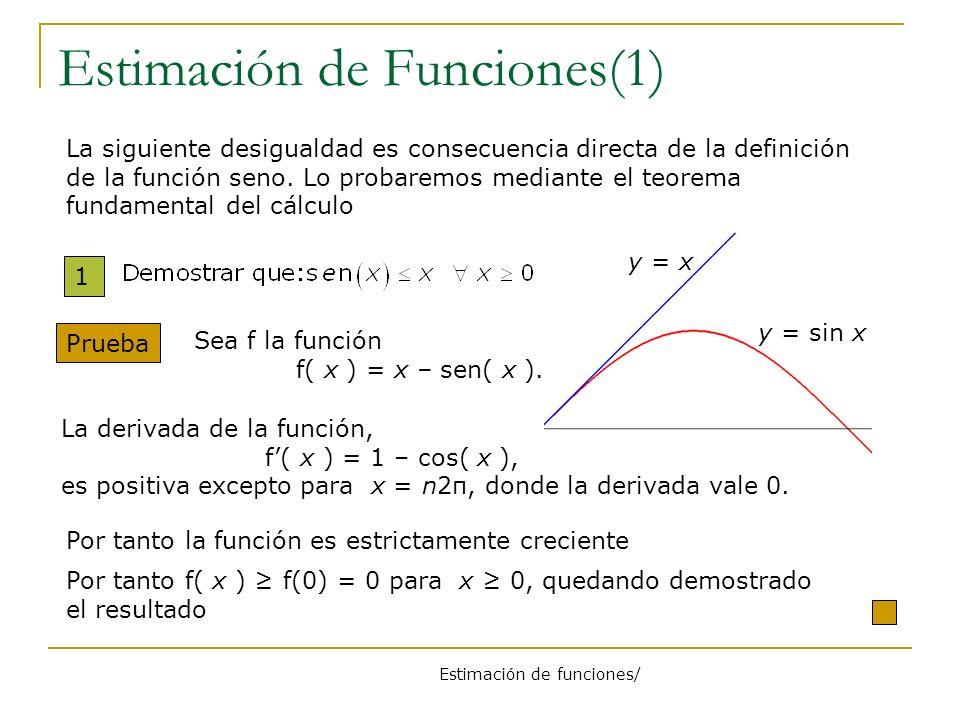 Estimación de Funciones(1)