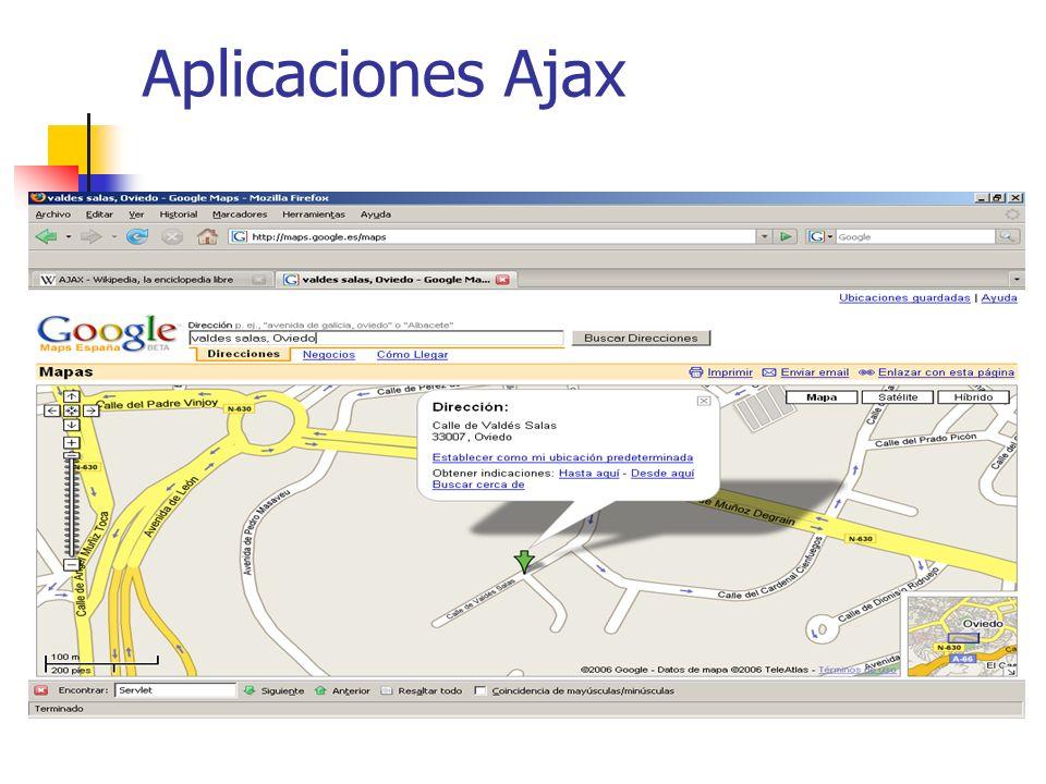 Aplicaciones Ajax